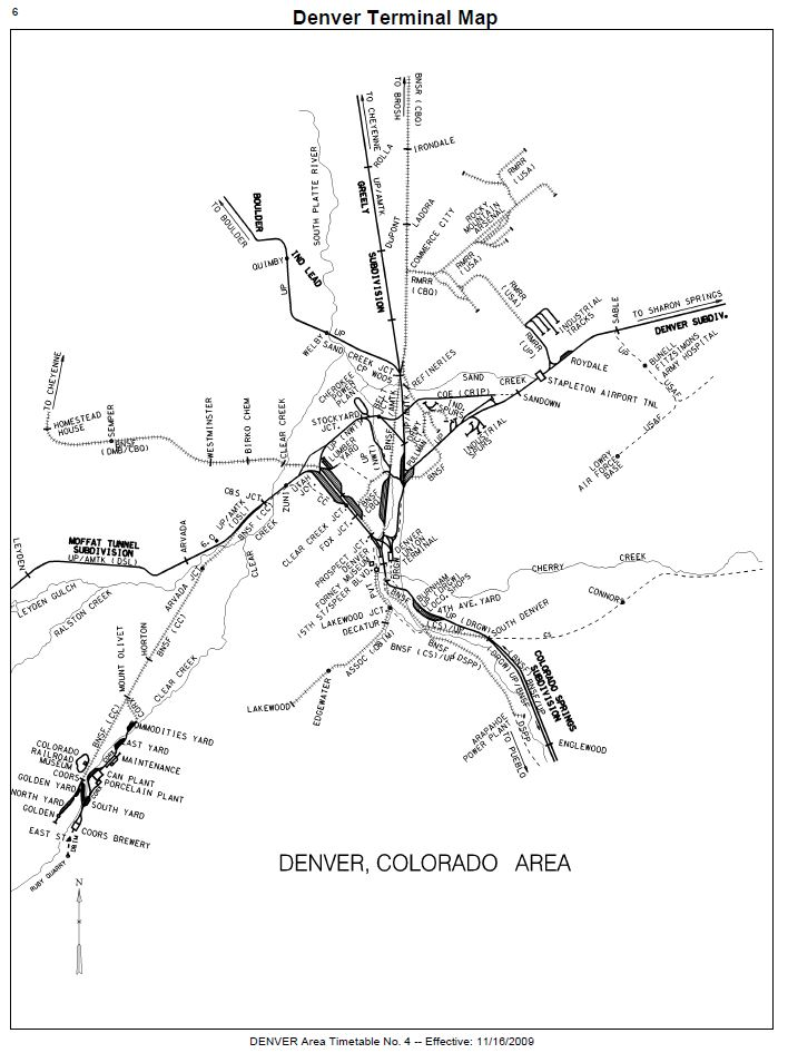 Prototype Books Of Denver S Railroads